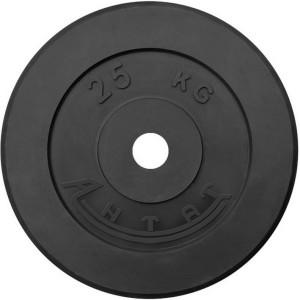 Диск обрезиненный АНТАТ, чёрный, 26 мм, 25кг
