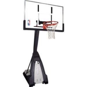 """Баскетбольная стойка мобильная, стекло Spalding NBA THE BEAST PORTABLE 60"""" арт. 74560CN"""