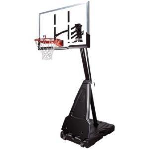 """Баскетбольная стойка мобильная, акрил Spalding Portable - 60"""" Acrylic арт. 71564CN"""