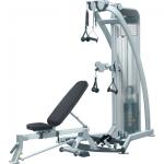 Мультистанция HG5 CABLE MOTION, функциональный треннинг + скамья универсальная AEROFIT
