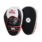 Лапы боксерские прямые Lonsdale Super Pro Straight Leather Hook & Jab Pad 25966