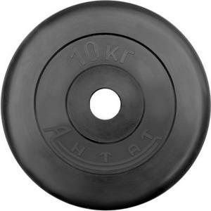 Диск обрезиненный АНТАТ, чёрный, 26 мм, 10кг