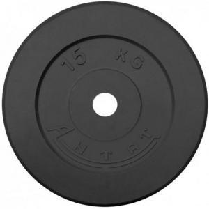 Диск обрезиненный АНТАТ, чёрный, 26 мм, 15кг