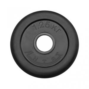 Диск обрезиненный АНТАТ, чёрный, 26 мм, 1,25кг