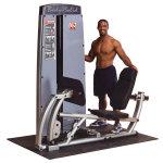 Блочный двухпозиционный тренажер для жима ногами и тренировки икроножных мышц Body Solid DCLP-SF