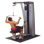 """Двухпозиционный тренажер для широчайших мышц """"тяга сверху/ тяга на себя"""" Body Solid DLAT-SF"""