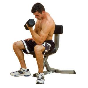Скамья-стул с вертикальной спинкой Body Solid GST-20