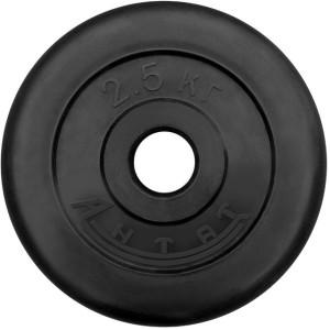Диск обрезиненный АНТАТ, чёрный, 26 мм, 2,5кг