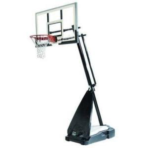 "Баскетбольная стойка мобильная, стекло Spalding 54"" Glass Hybrid Portable арт 71674CN"
