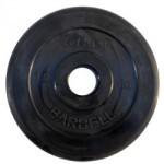 Диски обрезиненные, 10 кг чёрного цвета, 50 мм, Atlet MB-AtletB50-10