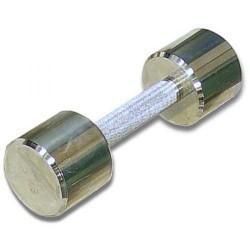 Гантель хромированная для фитнеса 5 кг MB-FitM-5