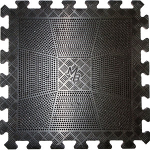 Коврик резиновый 400х400х12 (мм) черный