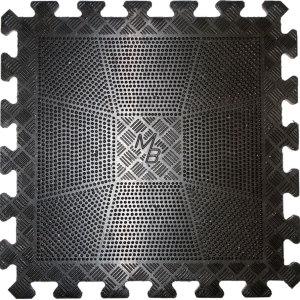 Коврик резиновый 400х400х20 черный