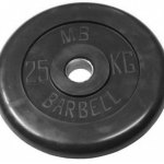 Barbell диски 25 кг 26 мм