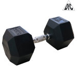 Гантели DFC гексаг. обрезиненная пара 30 кг DB001-30