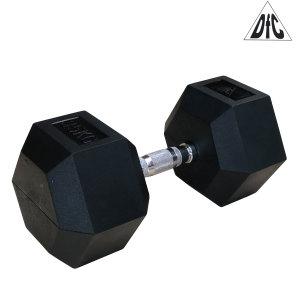 Гантели DFC гексаг. обрезиненная пара 35 кг DB001-35