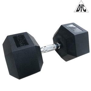Гантели DFC гексаг. обрезиненная пара 37.5 кг DB001-37.5