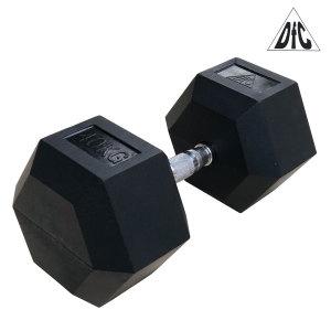 Гантели DFC гексаг. обрезиненная пара 40 кг DB001-40