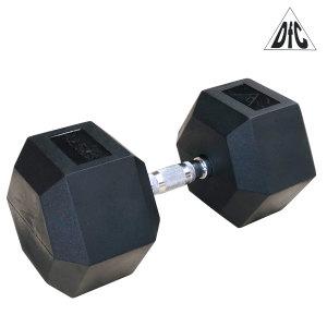 Гантели DFC гексаг. обрезиненная пара 42.5 кг DB001-42.5
