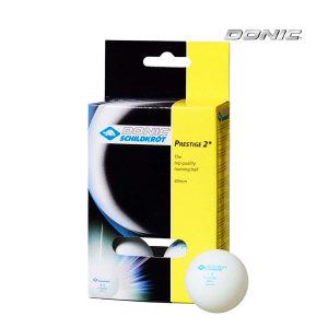 Мячики для настольного тенниса DONIC PRESTIGE 2, 6 шт, белые