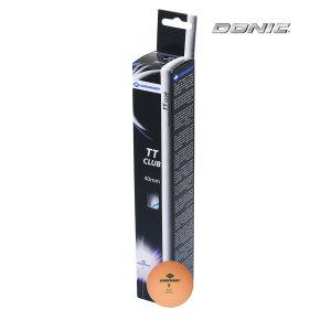 Мячики для настольного тенниса DONIC 2T-CLUB, 6 шт, оранжевый