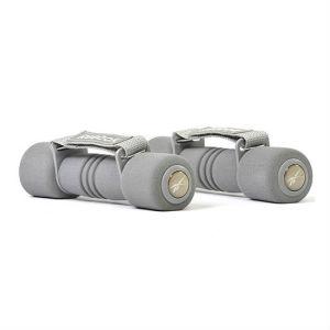 Гантель с мягкими накладками 1,0кг. арт.RAEL-11061GR(серый)