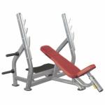 Наклонная скамья для жима лежа со стойками AeroFit IT7015
