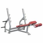 Олимпийская скамья с отрицательным наклоном, со стойками AeroFit IT7016