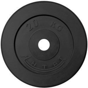 Диск обрезиненный АНТАТ, чёрный, 26 мм, 20кг
