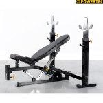 Силовая скамья со стойками Powertec WB-OB15