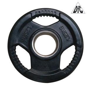 Диск обрезиненный DFC, чёрный, 51 мм, 1,25 кг