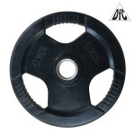 Диск обрезиненный DFC, чёрный, 51 мм, 10 кг