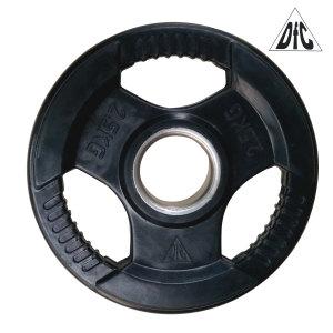 Диск обрезиненный DFC, чёрный, 51 мм, 2,5 кг
