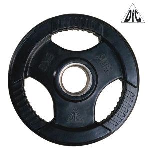 Диск обрезиненный DFC, чёрный, 51 мм, 5 кг