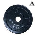Диск обрезиненный DFC, чёрный, 26 мм, 1,25 кг