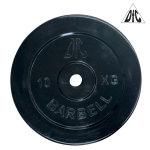 Диск обрезиненный DFC, чёрный, 26 мм, 10 кг
