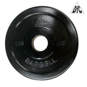 Диск обрезиненный DFC, чёрный, 31 мм, 1,25 кг