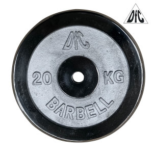 Диск хромированный DFC, 26 мм, 20 кг
